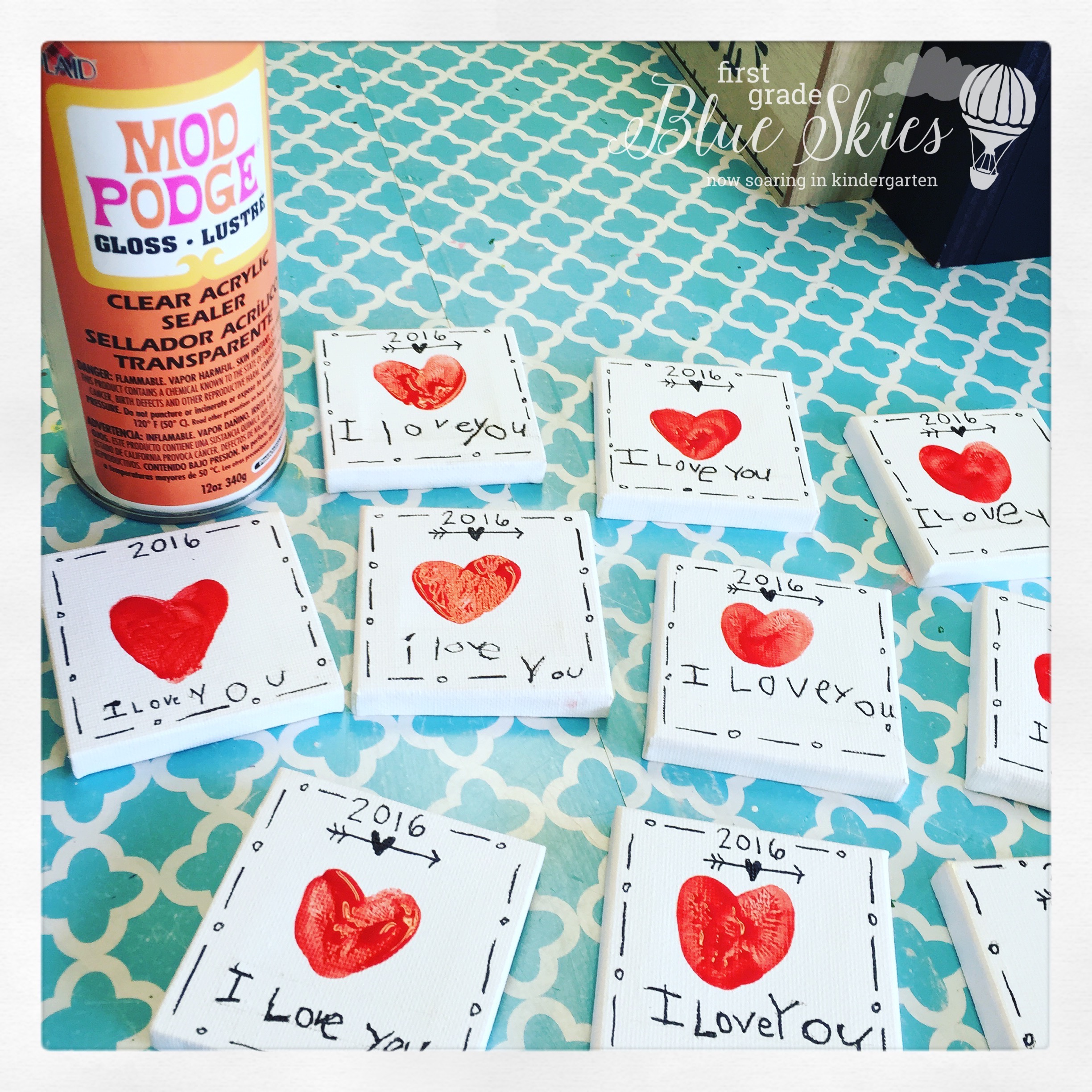 Mother S Day Thumbprint Magnet T
