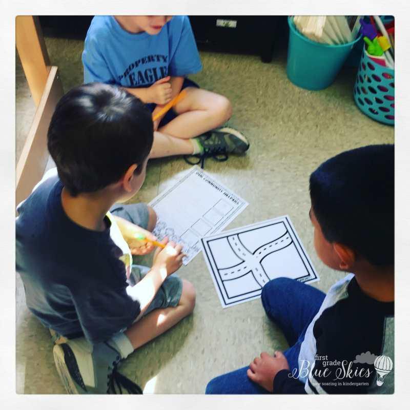 community helper first grade