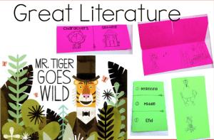 Mr Tiger Goes Wild Activities