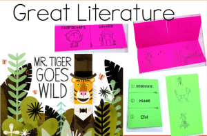 Mr Tiger Goes Wild Activities