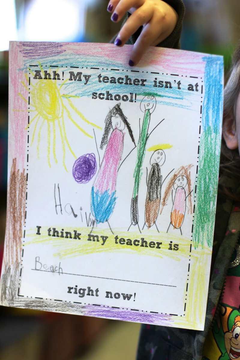 Sub Tub for teacher absences