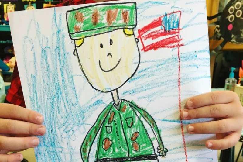 Veteran's Day Directed Drawing