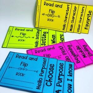 Literacy Flip Books