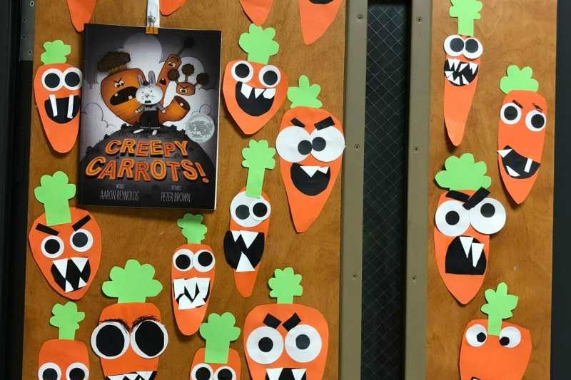Creepy Carrots Craft