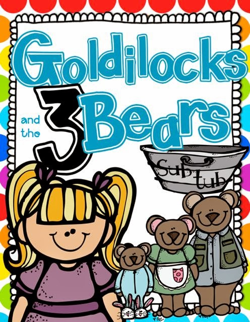 Goldilocks and the Three Bears Math and Literacy {Sub Tub} - First ...