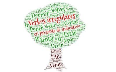 Verbos irregulares en presente