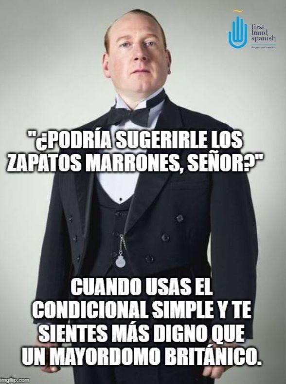 condicional simple - meme