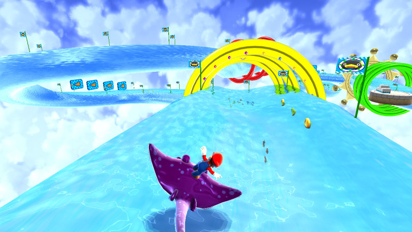 Image result for super mario galaxy water