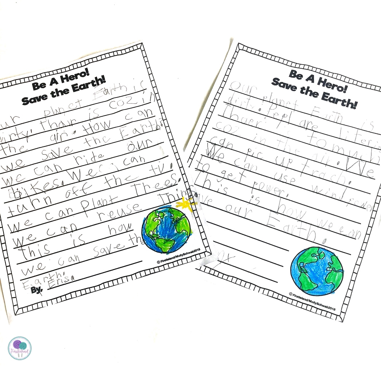 Earth Day Writing Prompts 1st Grade