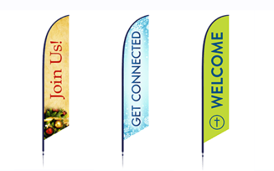 Feather Flags: Creating a Great Experience from the Outside