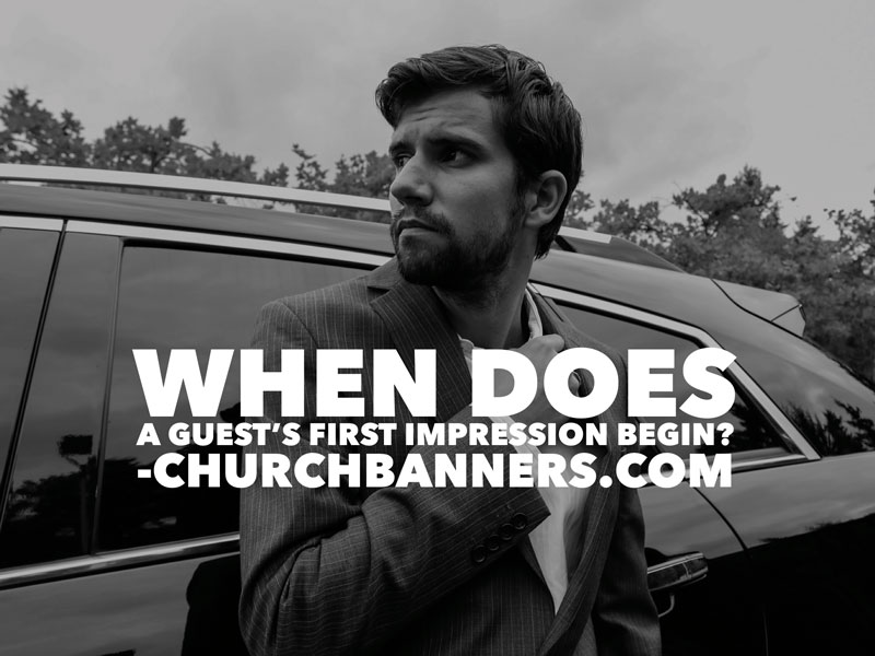 When Does A Guest's First Impression Begin?