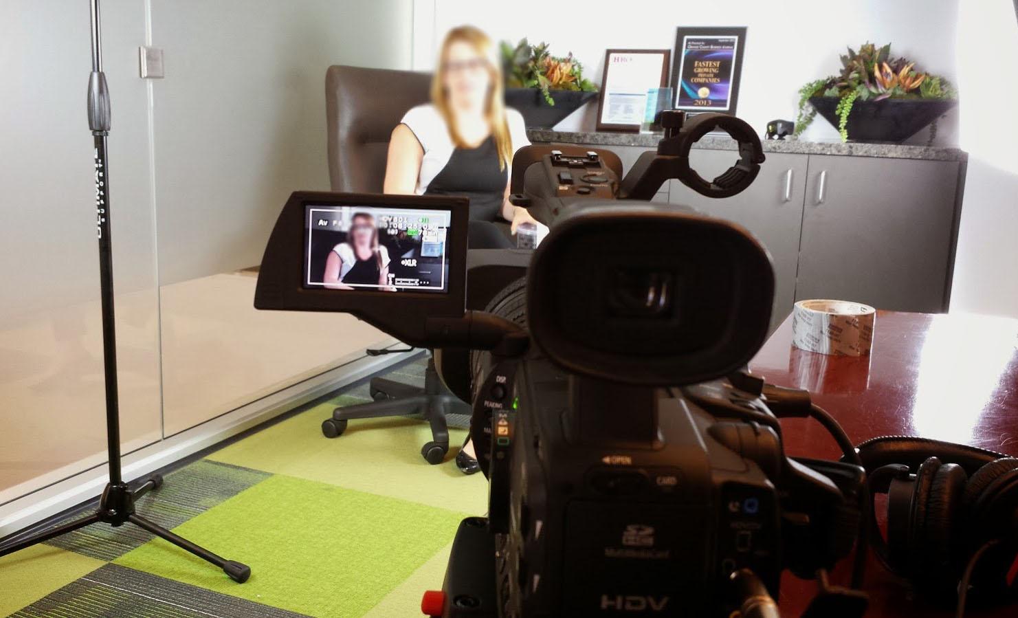 Ab Interview Setup Blur