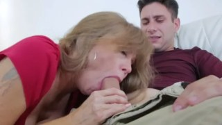 My mother offered to suck my cock