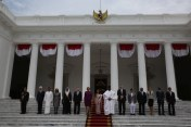 Yeah presented his credentials to the Head of State His Excellency President Joko Widodo (Jokowi)