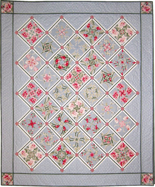Sandy's Rose Garden by Dawn White at First Light Designs