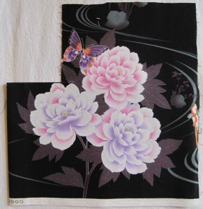 Fractured Flower fabric used in Dawn White's quilt at First Light Designs