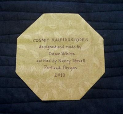 Cosmic Kaleido label 500