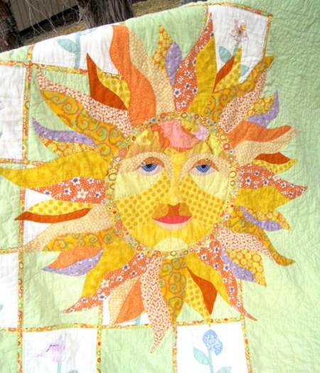 Peg's Sunshine quilt 2