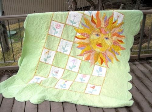 Peg's Sunshine quilt 3