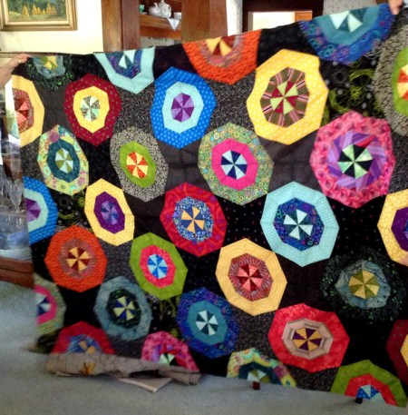 6-13 Peg's Paperweight quilt top