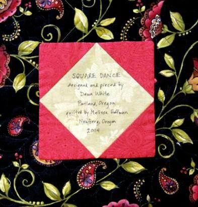 2014-1 Square Dance label