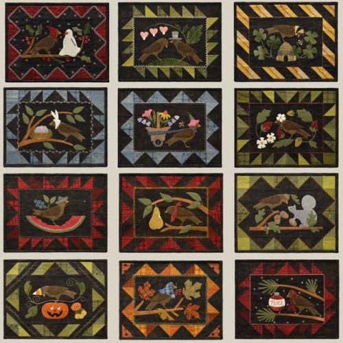 Bertie's Year originals by bonnie sullivan