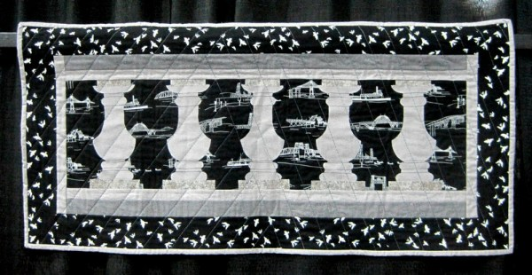 Bridge Challenge Burnside Bridge by Connie Brown