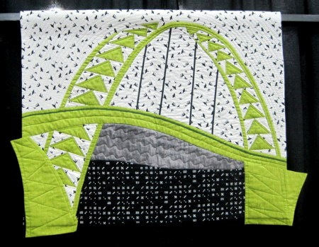 Bridge Challenge, Celery Green Crossing, Barbara Isom (Fremont)