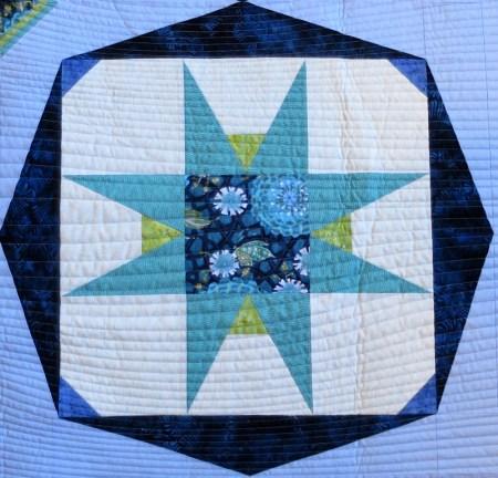 quilting detail, Billie's Star