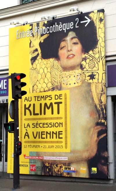 Klimt exhibit