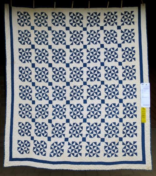 antique quilt circa 1900, maker unknown, exhibited by Karen Gilsdorf of Redmond OR