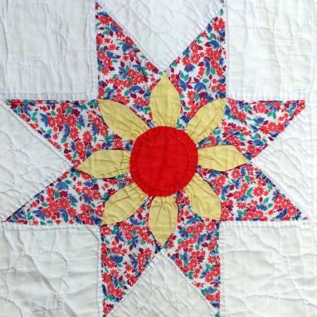 floral star block 6-001