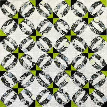 Ring Toss, quilted 1