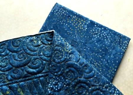 Wanderlust, binding fabric