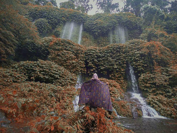 Air Terjun Benang Kelambu Yang Populer dan Mempesona di Lombok