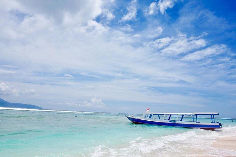 Gili Paling Indah di Lombok - Gili Trawangan, sumber ig @everydaycae