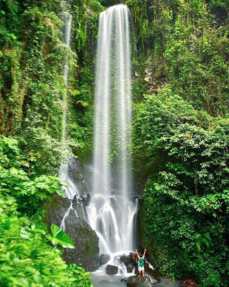 Air Terjun Batu Butir atau Aiq Kelep di Lombok Barat, sumber ig adhy_nata