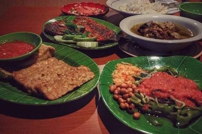 Menu Makanan di Rumah Makan Khas Lombok Tanjung Karang, sumber ig rm_khaslombok