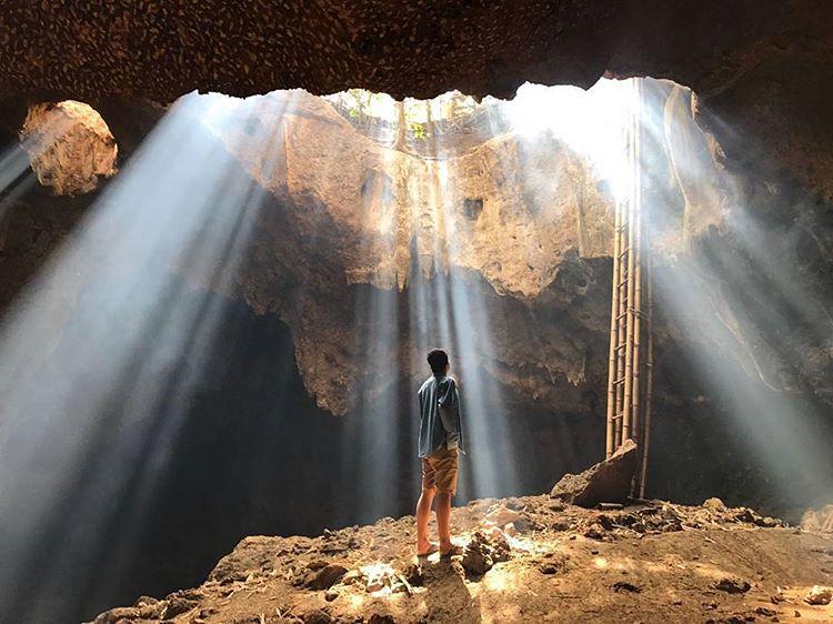 Goa Bangkang di Lombok, sumber ig @baliqbal_