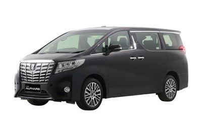 Rental Mobil Mewah, Toyota Alphard