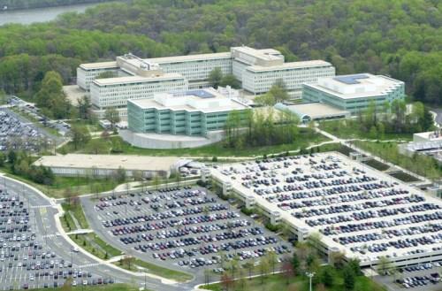 CIA headquarters in Langley, Virginia, 2001.