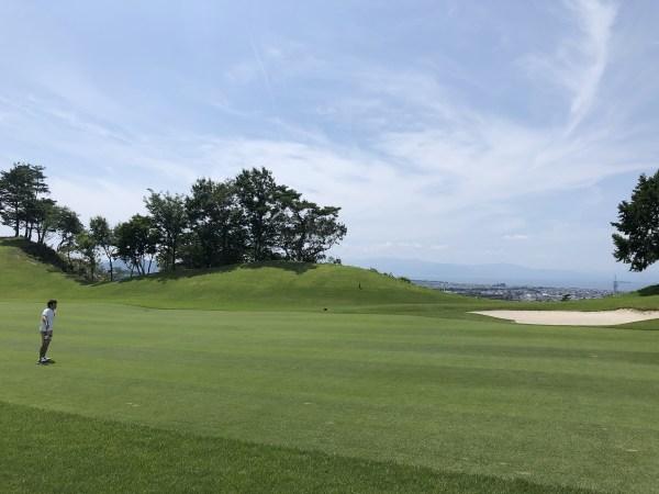 梅雨明けのゴルフは灼熱の暑さ
