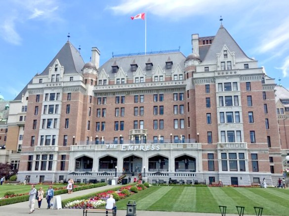 充滿貴族風情的酒店
