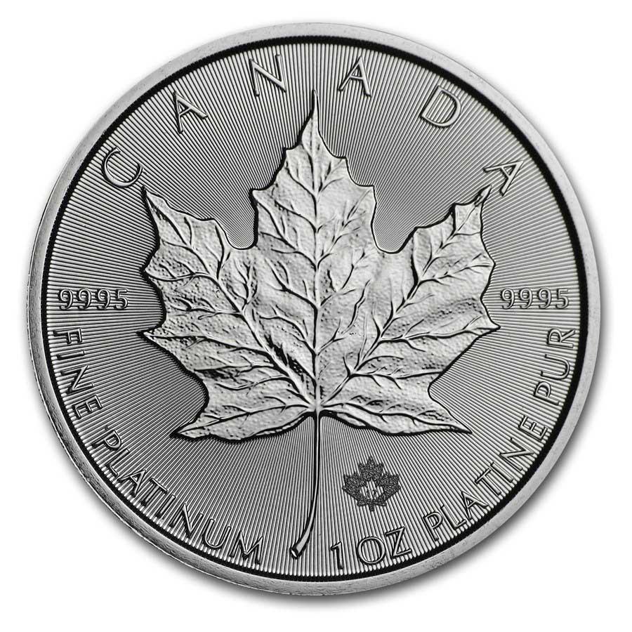 Canadian Platinum Maple Leaf