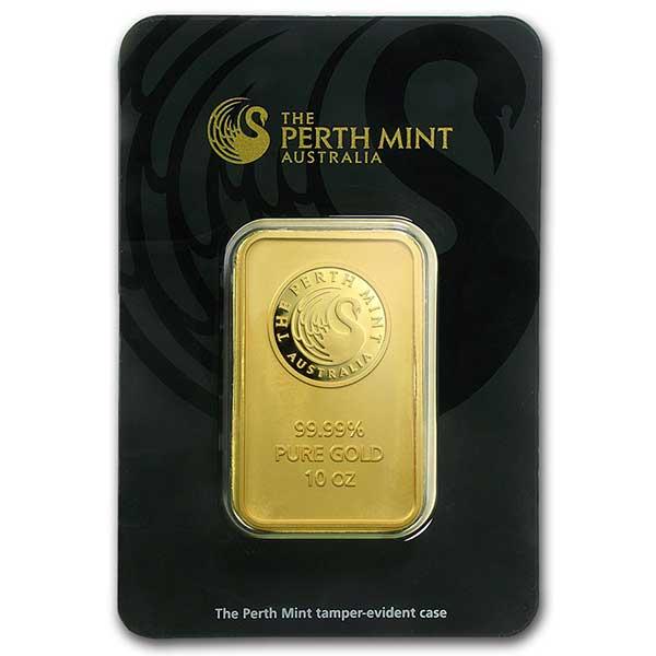 10 oz Perth Mint Gold Bar