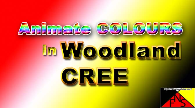 Animate Colours in Woodland Cree