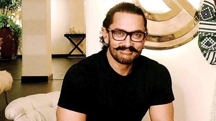 Bollywood star Aamir khan - Indian Film Industry showbiz