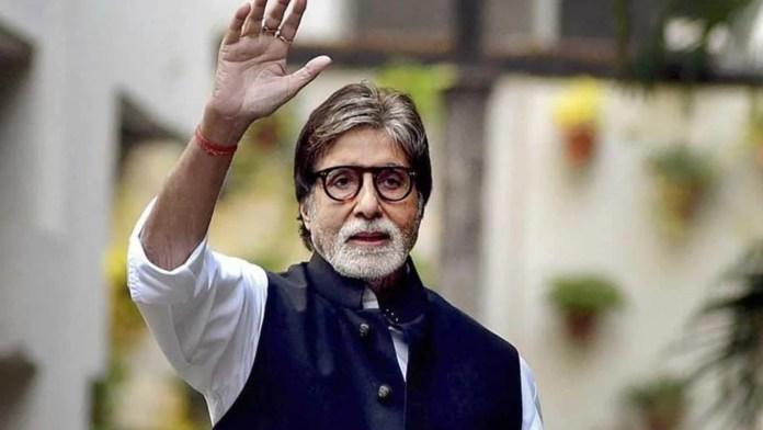 Bollywood star Amitabh Bachchan - Indian film industry showbiz