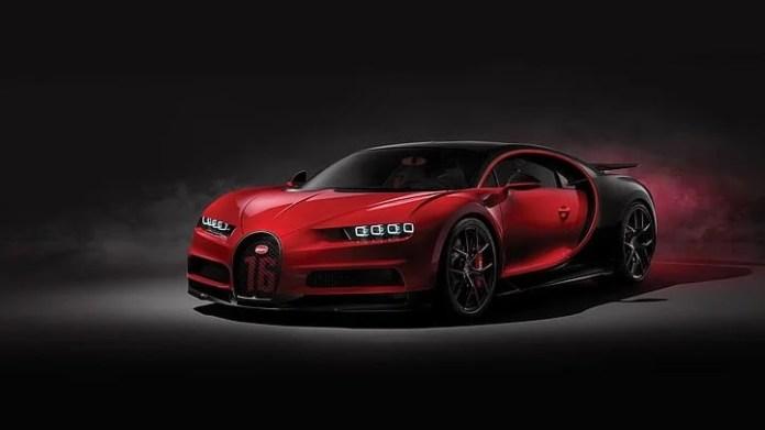 BUGATTI CHIRON: 261 MPH - fastest sports car