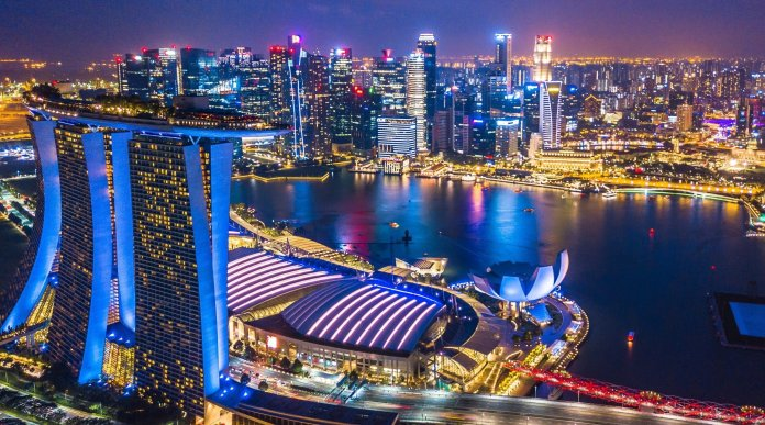 Singapore City, Singapore - most beautiful cities in the world